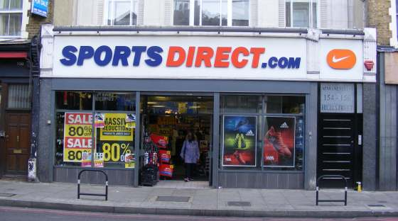 image: sports direct unethical company coronavirus response