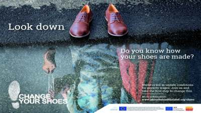 Image: Change Your Shoes advert