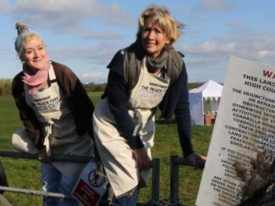 Image: Emma Thompson anti-fracking demo