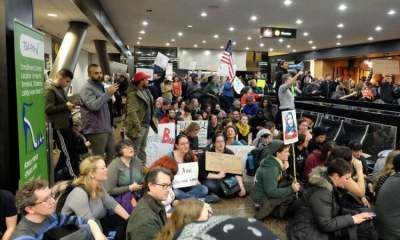 Image: Airport Protest against Trump Immigration Ban