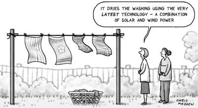 Cartoon: energy efficiency