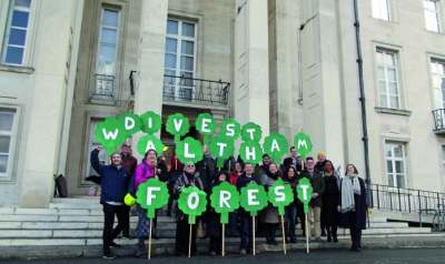 Image: Waltham forest council divest pensions