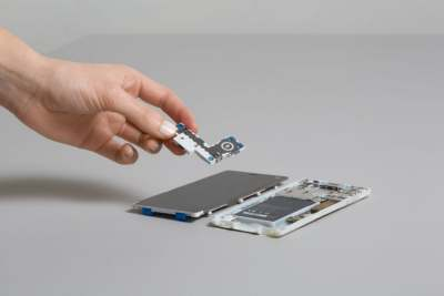 Image: fairphone speaker module