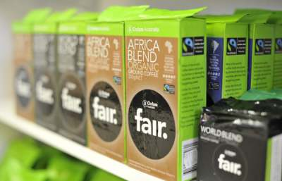 Image: Fairtrade coffee oxfam