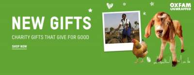 Image: oxfam unwrapped