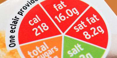 Image: traffic light nutritional labelling