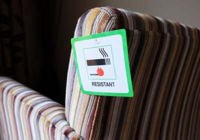 Image: flame resistant chair