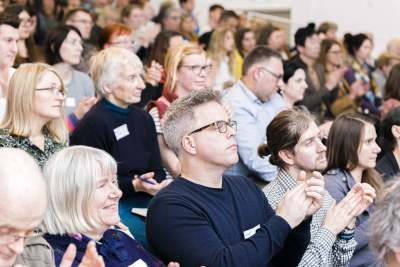 Audience at the Ethical Consumer conference 2019