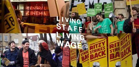 Image: Picturehouse Boycott living wage