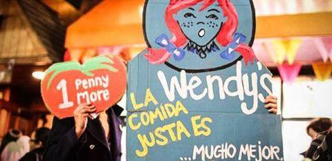 Image: Wendy's workers rights boycott