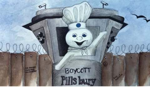 Pillsbury boycott called by American Muslims for Palestine