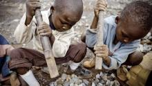 Image: Child labour conflict minerals Congo