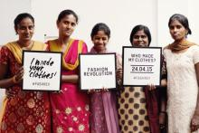 Image: Fashion Revolution garment workers