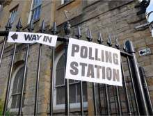 image: polling station way in tax manifesto