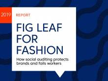 infographic: fig leaf for fashion how social auditing protects brands and fails workers