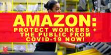 image: Amazon protect workers the public from covid-19 now