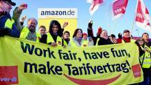 German Amazon Strike