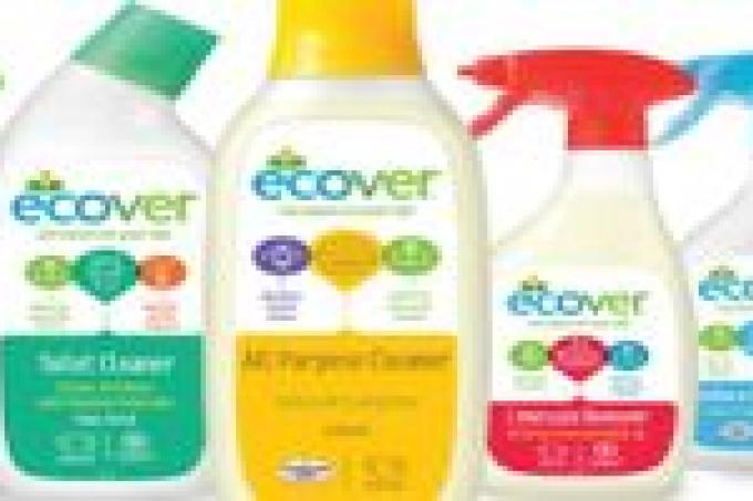 Image: Planet Organic Ecover household cleaners