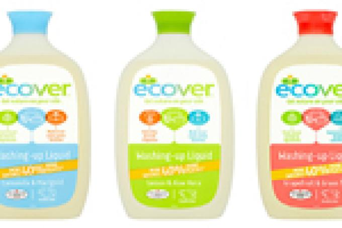 Image: Planet Organic Ecover washing up liquid