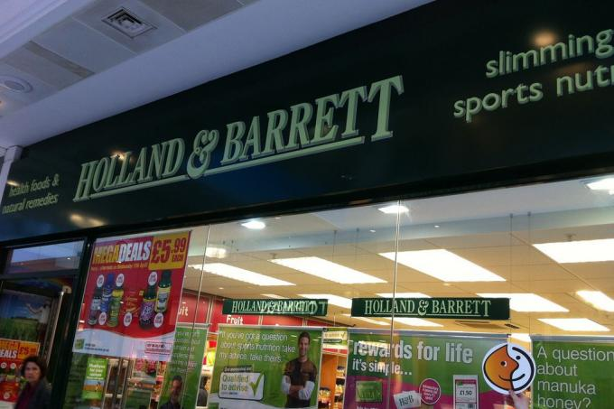 Image: Holland and Barrett