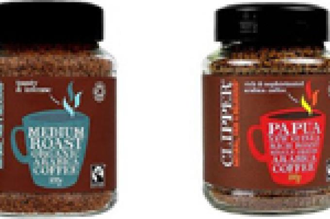 Image: Fairtrade Clipper coffee Planet Organic