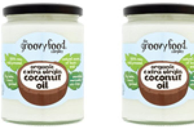 Image: Groovy Food coconut oil Waitrose