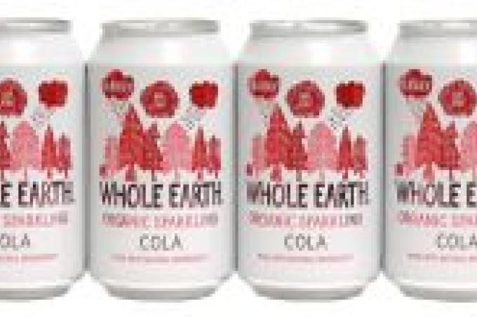 Image: Whole Earth organic cola