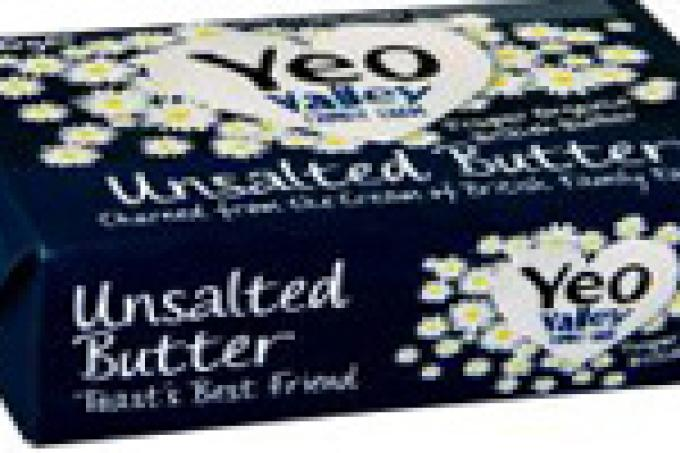 Image: Yeo Valley butter
