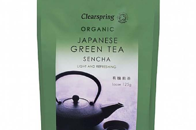 Image: organic clearspring green tea