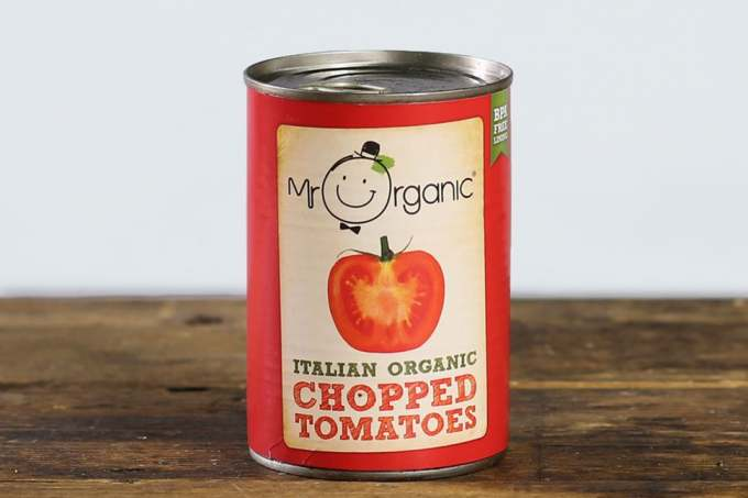 Image: mr organic chopped tomatoes