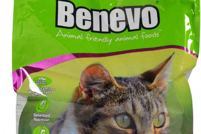 image: wholesale bag of benevo ethical cat food