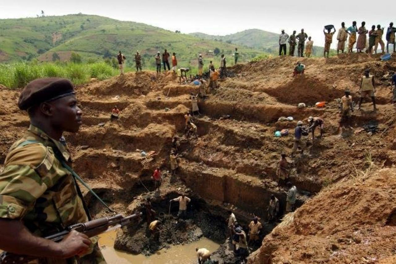 mine in congo