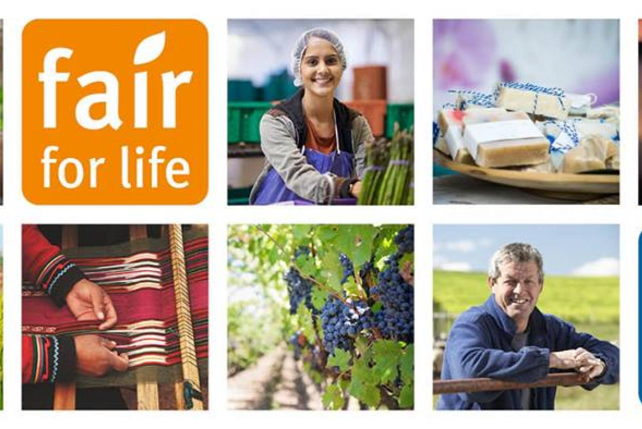 Image: Fair for Life ethical certification