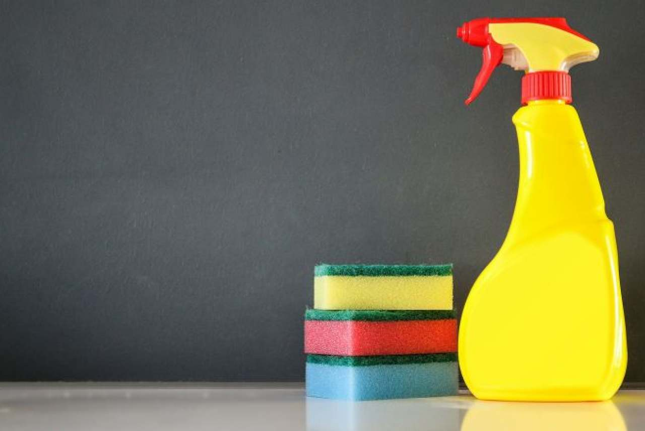 Image: cleaning products