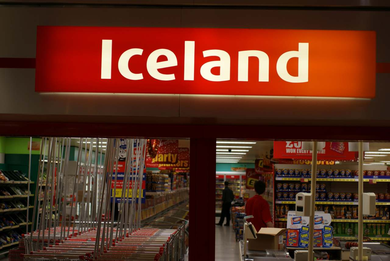Image: iceland uk palm oil free supermarket