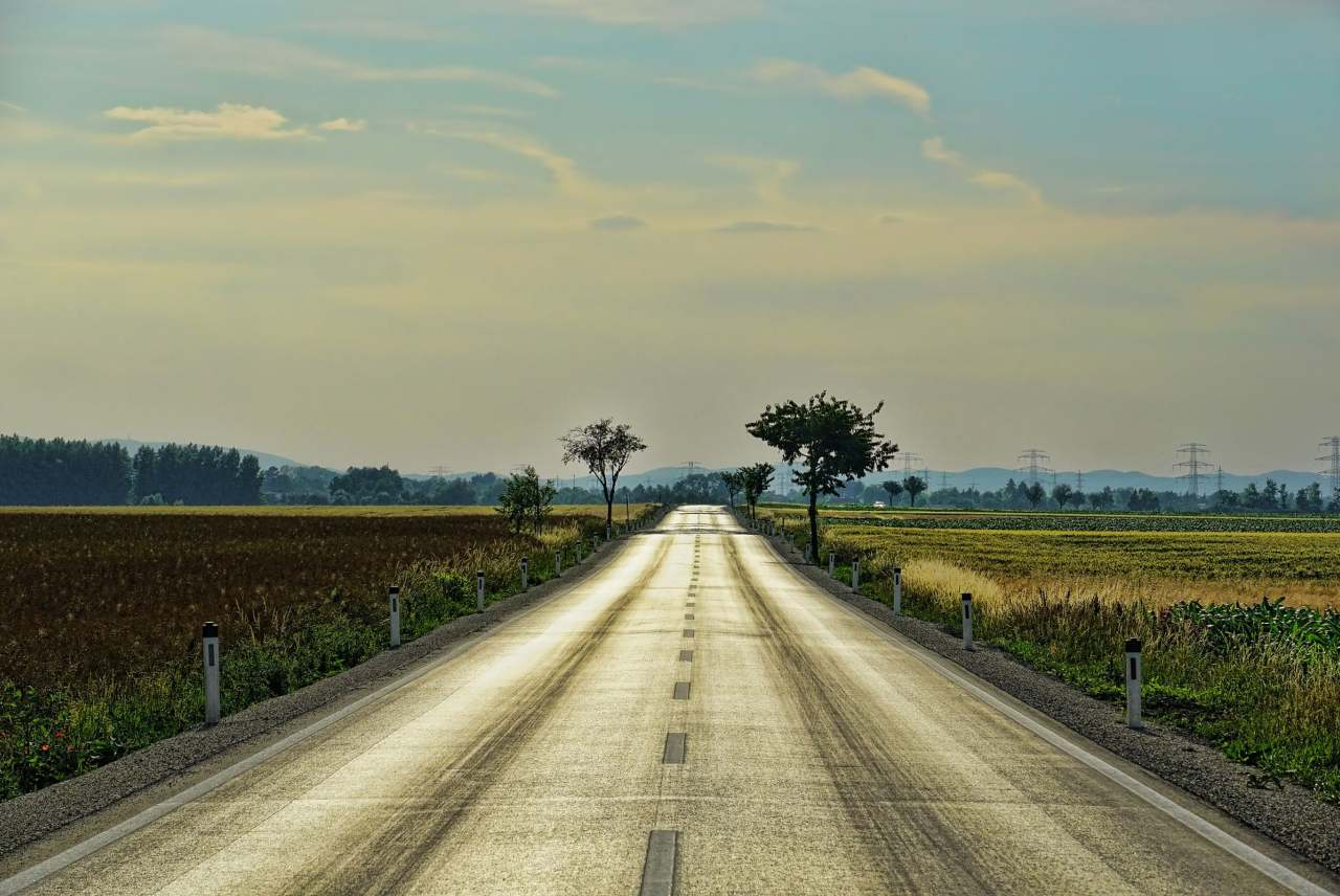Image: road representing transport for Ethical Consumer podcast