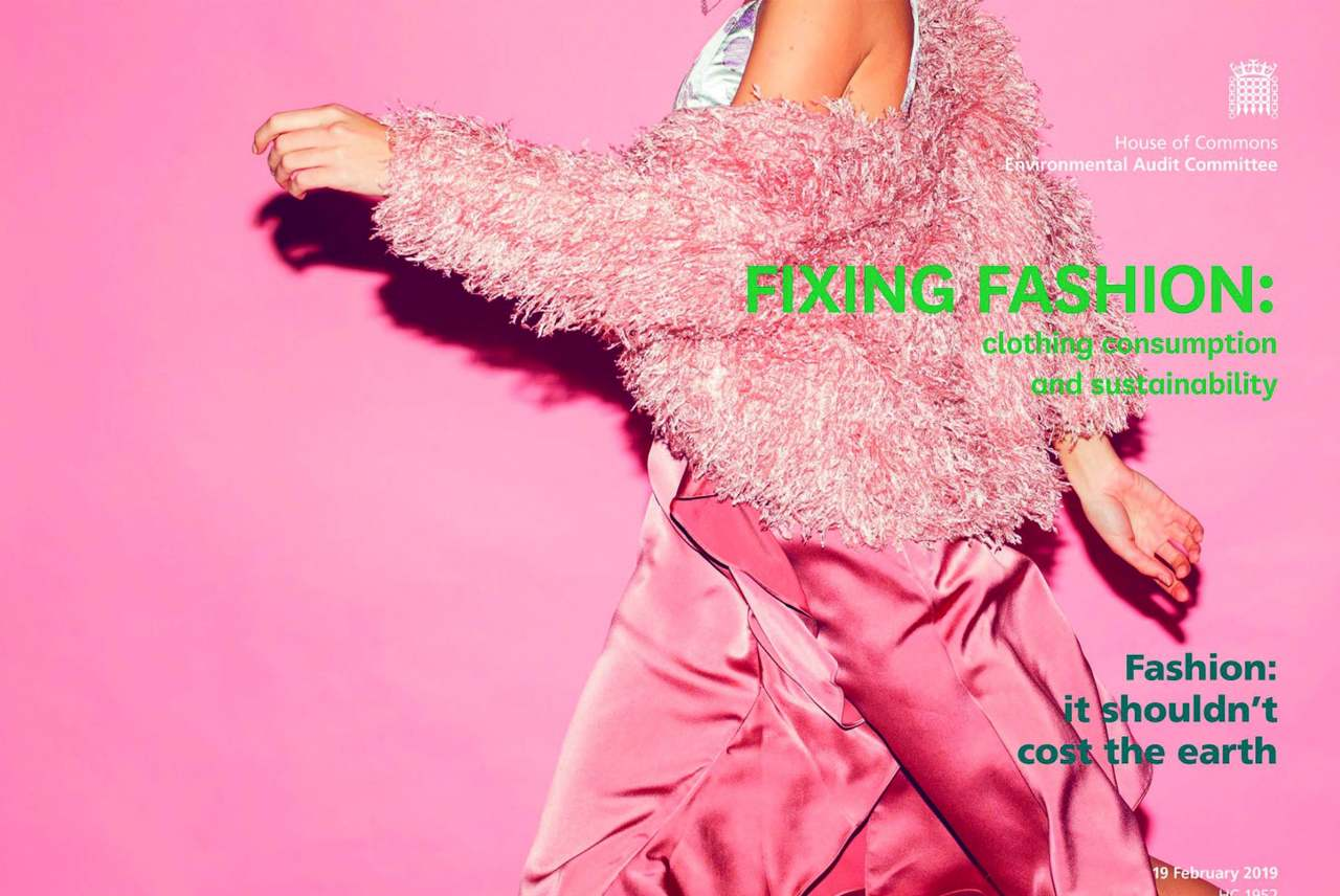 Image: fixing fashion campaign poster