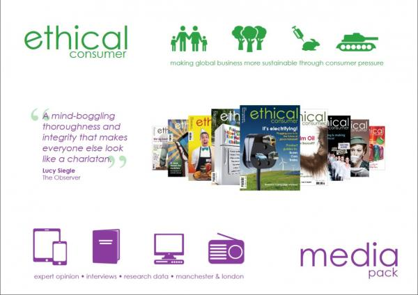 Image: Ethical Consumer Media Pack