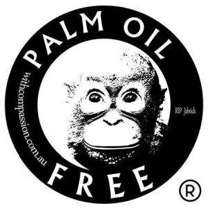 logo: international palm oil free certification trademark and accreditation