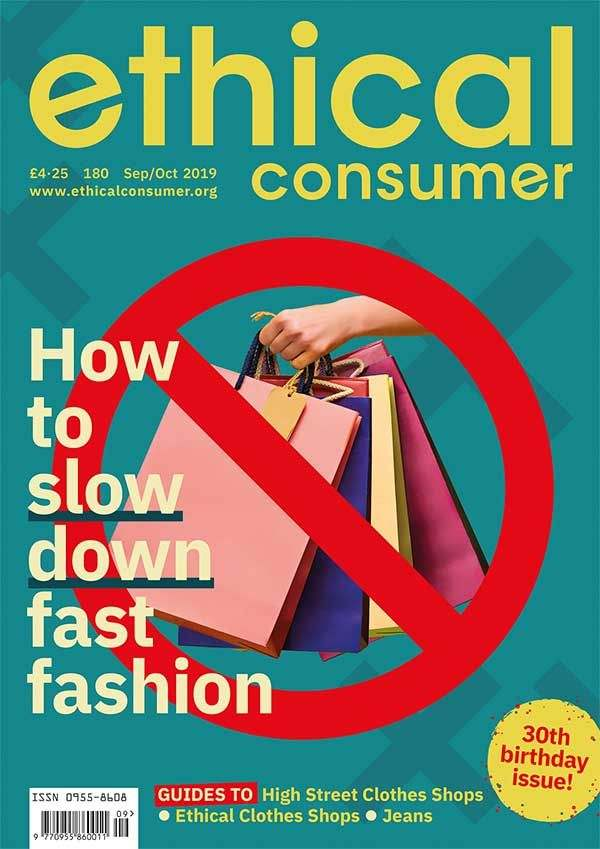 Issue 180 cover How to slow down fast fashion