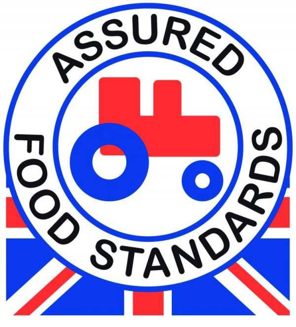 image: red tractor standard label ethical milk
